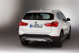 fiche technique bmw x1 ii f48 xdrive20d 190ch m sport. Black Bedroom Furniture Sets. Home Design Ideas