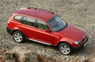 fiche technique bmw x3 1 e83 diesel 218ch sport de 2005 2006. Black Bedroom Furniture Sets. Home Design Ideas