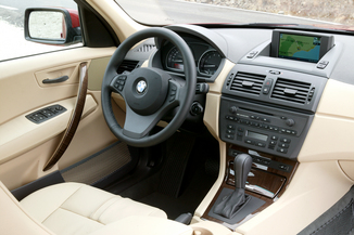 fiche technique bmw x3 i e83 204ch luxe l 39. Black Bedroom Furniture Sets. Home Design Ideas