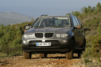 fiche technique bmw x5 i e53 pack luxe 2005. Black Bedroom Furniture Sets. Home Design Ideas