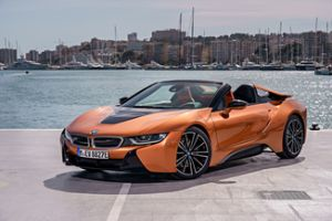 bmw i8 roadster actualit essais cote argus neuve et occasion l argus. Black Bedroom Furniture Sets. Home Design Ideas