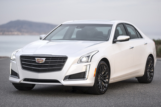 CADILLAC CTS 2.0T 276ch Luxury Noir Carbone RWD AT8