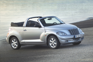 fiche technique chrysler pt cruiser cabriolet 2 4 limited ba l 39. Black Bedroom Furniture Sets. Home Design Ideas