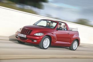 fiche technique chrysler pt cruiser cabriolet i 2 4 turbo gt 2005. Black Bedroom Furniture Sets. Home Design Ideas