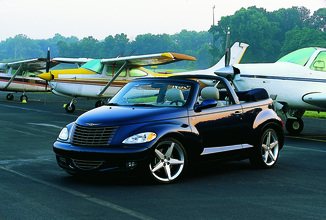 fiche technique chrysler pt cruiser cabriolet i 2 4 touring 2006. Black Bedroom Furniture Sets. Home Design Ideas