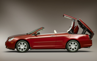 fiche technique chrysler sebring cabriolet ii 2 0 crd limited toit rigide l 39. Black Bedroom Furniture Sets. Home Design Ideas
