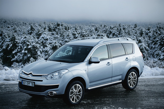 CITROEN C-Crosser Génération I Phase 1 2.2 HDi160 16v FAP Exclusive
