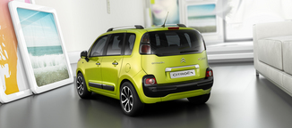 fiche technique citroen c3 picasso i 1 4 vti attraction 2008. Black Bedroom Furniture Sets. Home Design Ideas