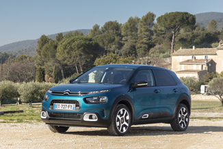 CITROEN C4 Cactus BlueHDi 120ch S&S Feel Business EAT6 E6.d-TEMP