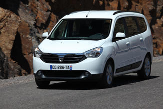 fiche technique dacia lodgy i j92 1 6 sce 100ch silver line euro6 5 places l 39. Black Bedroom Furniture Sets. Home Design Ideas
