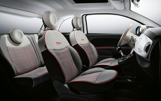 Fiche technique fiat 500 1 2 8v 69ch lounge l 39 for Interieur 51 berlin