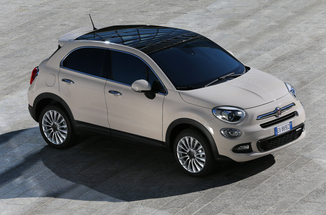 fiche technique fiat 500x 1 6 e torq 110ch popstar l 39. Black Bedroom Furniture Sets. Home Design Ideas