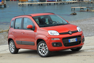 Fiat Panda III 1.2 8v 69ch Lounge Business (08/2016)