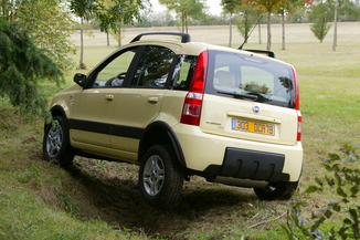 fiat panda 4x4 comparatif fiat panda 4x4 fiches. Black Bedroom Furniture Sets. Home Design Ideas