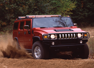 HUMMER H2 SUT 325ch S Black Diamond