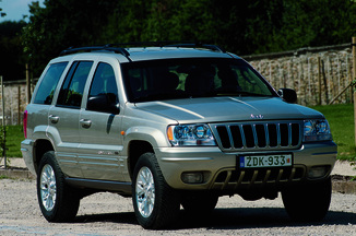 fiche technique jeep grand cherokee 2 5 td limited l. Black Bedroom Furniture Sets. Home Design Ideas