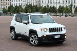 JEEP Renegade Génération I Phase 1 1.6 MultiJet S&S 120ch Limited
