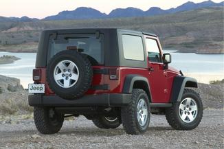fiche technique jeep wrangler 3 6 v6 284ch rubicon bva l 39. Black Bedroom Furniture Sets. Home Design Ideas