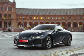 LEXUS LC 500 V8 477ch Sport + BVA10 Direct Shift