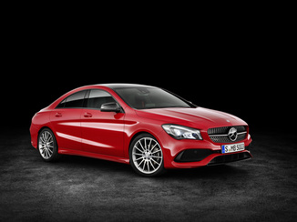 MERCEDES-BENZ CLA Génération I (C117) Phase 2 45 AMG 381ch Yellow Night Edition 4Matic Speedshift DCT