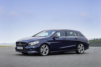 Mercedes-Benz CLA Shooting Brake 180 d Inspiration 7G-DCT (04/2016)