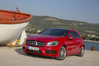 MERCEDES-BENZ Classe A Génération III (W176) Phase 1 45 AMG 4Matic Edition 1 SPEEDSHIFT-DCT