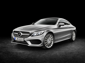 MERCEDES-BENZ Classe C Coupé 63 AMG 476ch Edition 1 grise Speedshift MCT