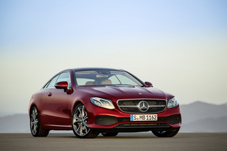 MERCEDES-BENZ Classe E Coupe 400 333ch Fascination 4Matic 9G-Tronic