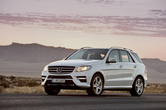 MERCEDES-BENZ Classe ML 350 BlueTEC Fascination 7G-Tronic +