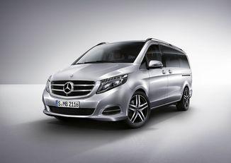 Tapis compartiment Mercedes w447 Vito Tourer extra longue 1-Porte Coulissante-NOIR Mat