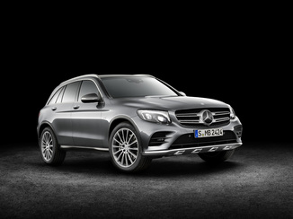 MERCEDES-BENZ GLC 350 d 258ch Fascination 4Matic 9G-Tronic