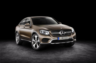 MERCEDES-BENZ GLC Coupé 250 211ch Fascination 4Matic 9G-Tronic