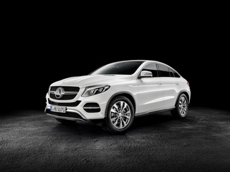 MERCEDES-BENZ GLE Coupé 350 d 258ch Fascination 4Matic 9G-Tronic