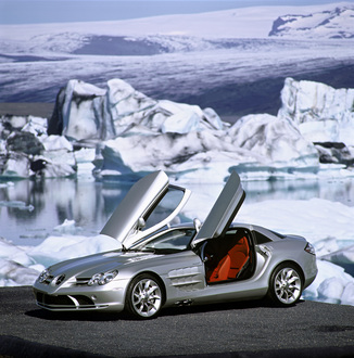 fiche technique mercedes benz slr 55 amg l 39. Black Bedroom Furniture Sets. Home Design Ideas