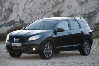 NISSAN Qashqai+2 1.5 dCi 110ch FAP Connect Edition
