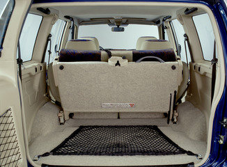 fiche technique nissan terrano ii ii 2 7 tdi125 luxe 3p 2001. Black Bedroom Furniture Sets. Home Design Ideas