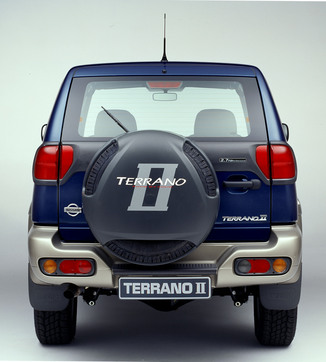 fiche technique nissan terrano 2 ii diesel 2 7 tdi125 luxe 5p de 1999 2002. Black Bedroom Furniture Sets. Home Design Ideas
