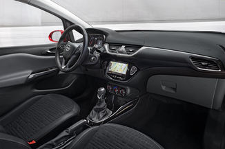 Fiche technique opel corsa v 1 4 turbo 100ch color edition for Opel corsa 2010 interior