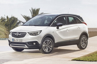 OPEL Crossland X 1.2 Turbo 110ch ECOTEC Edition