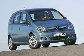 opel meriva comparatif opel meriva fiches techniques essais actus. Black Bedroom Furniture Sets. Home Design Ideas