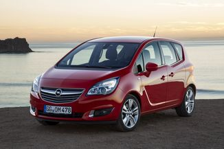 fiche technique opel meriva ii 1 4 turbo twinport 120ch cosmo pack start stop l 39. Black Bedroom Furniture Sets. Home Design Ideas