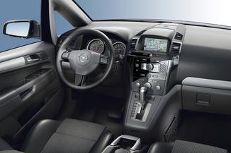 Fiche technique Opel Zafira II 1.7 CDTI125 FAP Magnetic ...