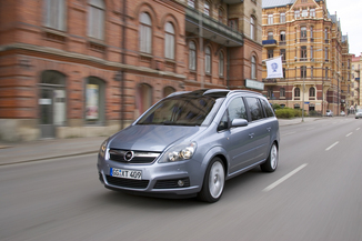 fiche technique opel zafira ii 1 7 cdti 125ch fap connect. Black Bedroom Furniture Sets. Home Design Ideas