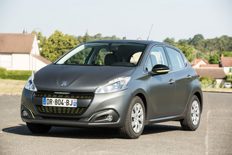fiche technique peugeot 208 1 2 puretech 82ch style 5p l 39. Black Bedroom Furniture Sets. Home Design Ideas