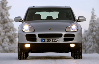 fiche technique porsche cayenne i v6 2004. Black Bedroom Furniture Sets. Home Design Ideas