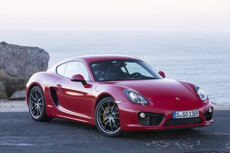 PORSCHE Cayman 2.7 275ch Black Edition
