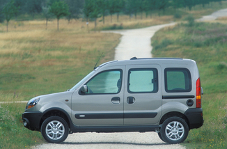 fiche technique renault kangoo 4x4 i 1 6 16v fairway ii 2006. Black Bedroom Furniture Sets. Home Design Ideas