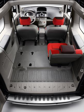 fiche technique renault kangoo be bop ii 1 6 16v 3p l 39. Black Bedroom Furniture Sets. Home Design Ideas