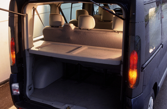 fiche technique renault trafic i 2 0 16v l1h1 1000 kg authentique 2008. Black Bedroom Furniture Sets. Home Design Ideas