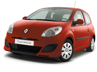Renault Twingo II (C44) 1.2 16v 75ch Initiale Quickshift (03/2010)